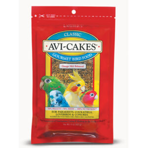 Classic Avi-Cakes for Small Birds