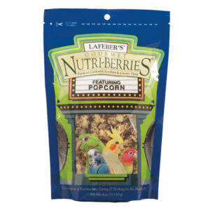 Cockatiel Popcorn Nutri-Berrie Treats 4oz