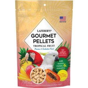 Macaw Tropical Fruit Gourmet Pellets
